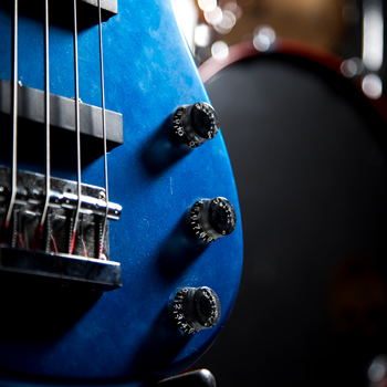 Recording Studio Bass Guitar